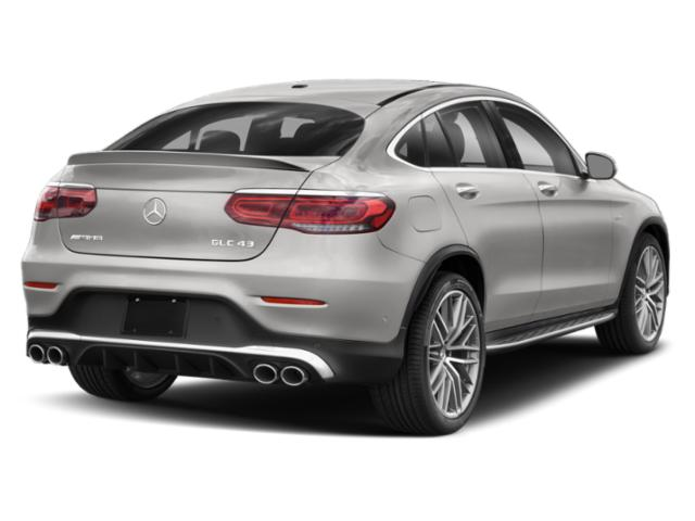 2021 Mercedes-Benz GLC Base Price AMG GLC 43 4MATIC Coupe Pricing side rear view