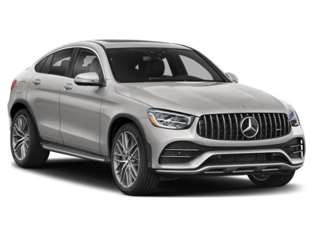 2021 Mercedes-Benz GLC Base Price AMG GLC 43 4MATIC Coupe Pricing side front view