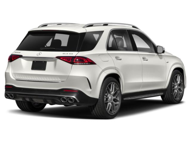 2021 Mercedes-Benz GLE Base Price AMG GLE 53 4MATIC SUV Pricing side rear view