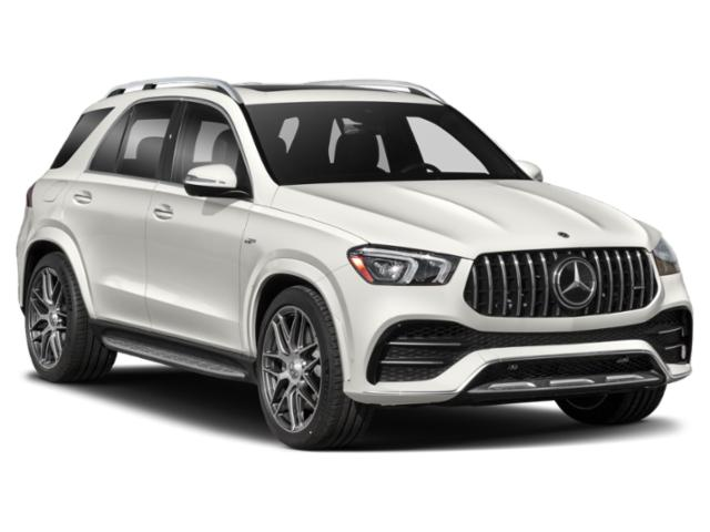 2021 Mercedes-Benz GLE Base Price AMG GLE 53 4MATIC SUV Pricing side front view