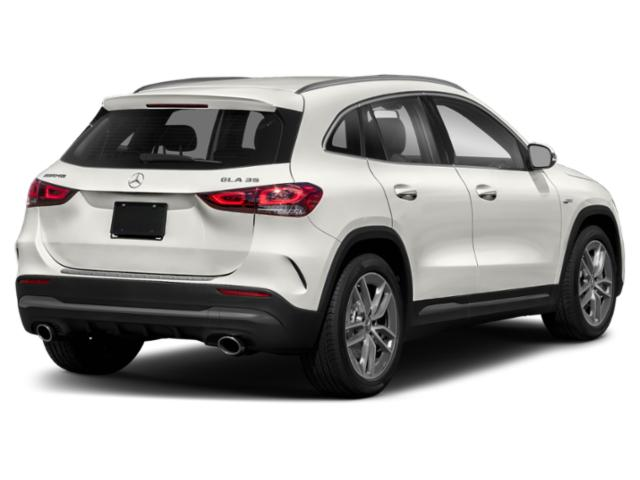 2021 Mercedes-Benz GLA Base Price AMG GLA 35 4MATIC SUV Pricing side rear view