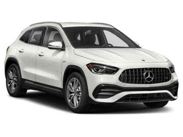 2021 Mercedes-Benz GLA Base Price AMG GLA 35 4MATIC SUV Pricing side front view