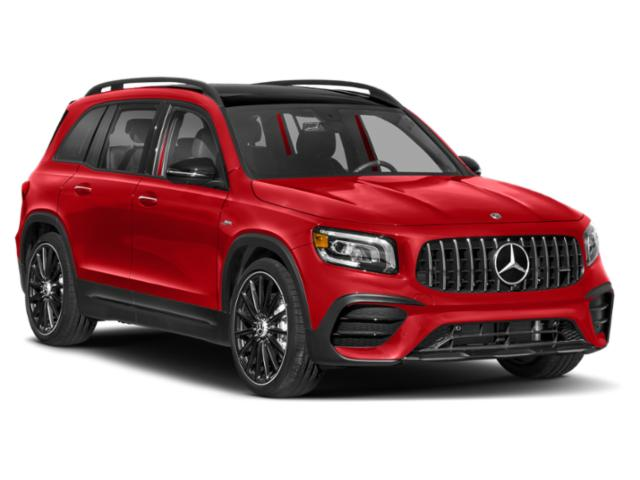 2021 Mercedes-Benz GLB Base Price AMG GLB 35 4MATIC SUV Pricing side front view