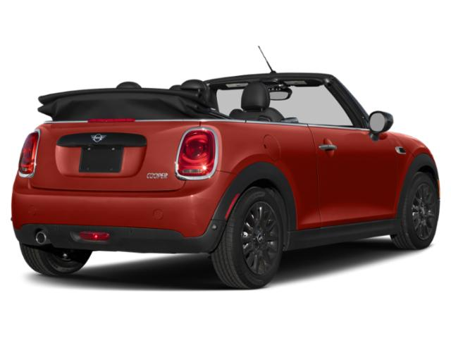 2021 MINI Convertible Pictures Convertible Cooper FWD photos side rear view