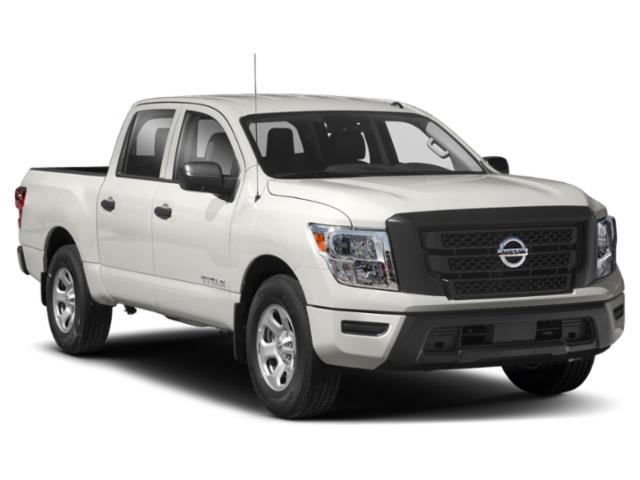 2021 Nissan Titan Base Price 4x2 Crew Cab Platinum Reserve Pricing side front view