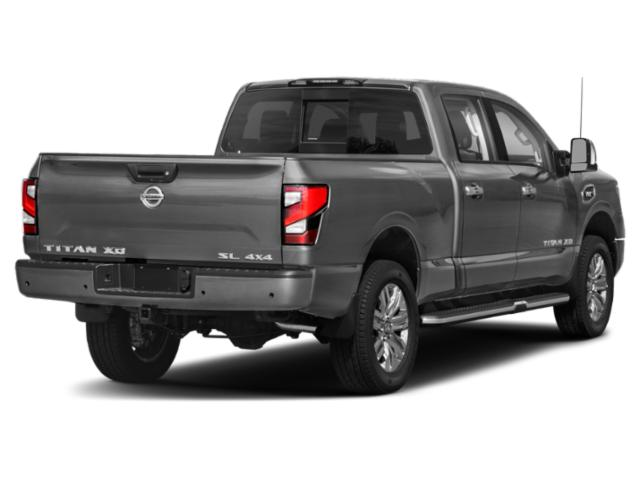 2021 Nissan Titan XD Base Price 4x4 Crew Cab PRO-4X Pricing side rear view