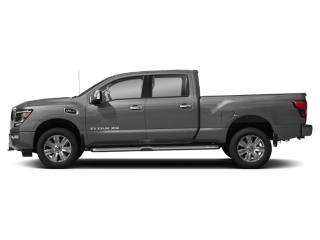 2021 Nissan Titan XD Base Price 4x4 Crew Cab PRO-4X Pricing side view