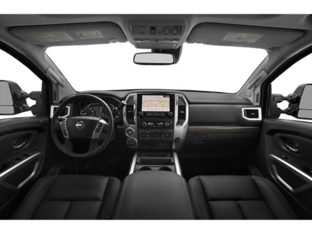 2021 Nissan Titan XD Base Price 4x4 Crew Cab PRO-4X Pricing full dashboard