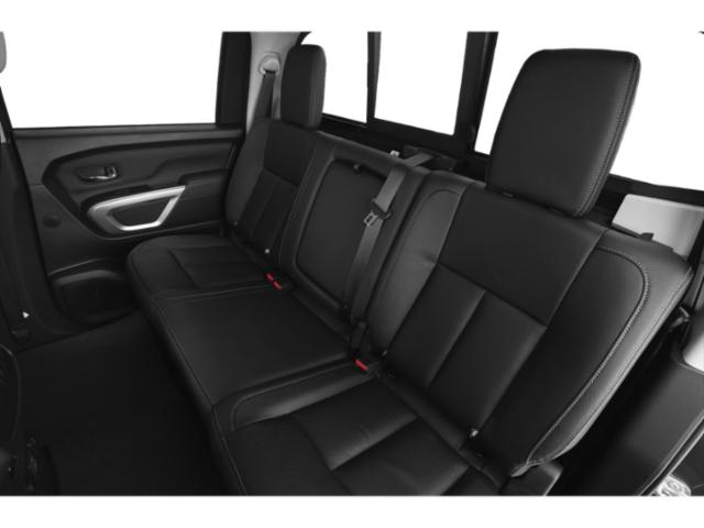 2021 Nissan Titan XD Base Price 4x4 Crew Cab PRO-4X Pricing backseat interior