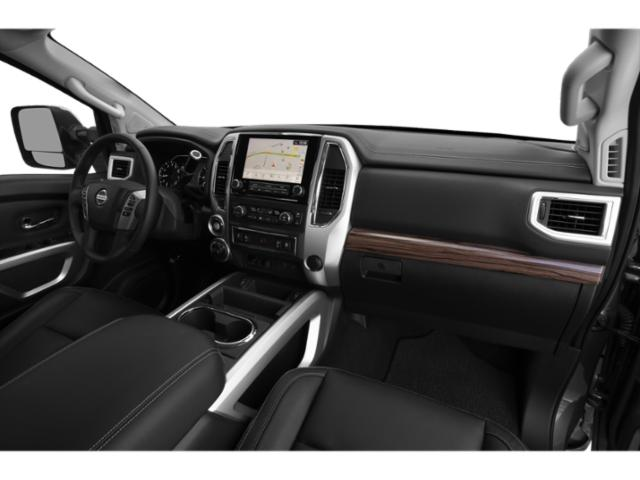 2021 Nissan Titan XD Base Price 4x4 Crew Cab PRO-4X Pricing passenger's dashboard