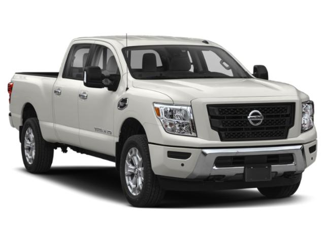 2021 Nissan Titan XD Base Price 4x4 Crew Cab PRO-4X Pricing side front view