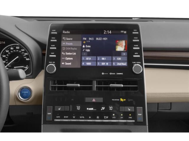 2021 Toyota Avalon Base Price Hybrid Limited FWD Pricing stereo system