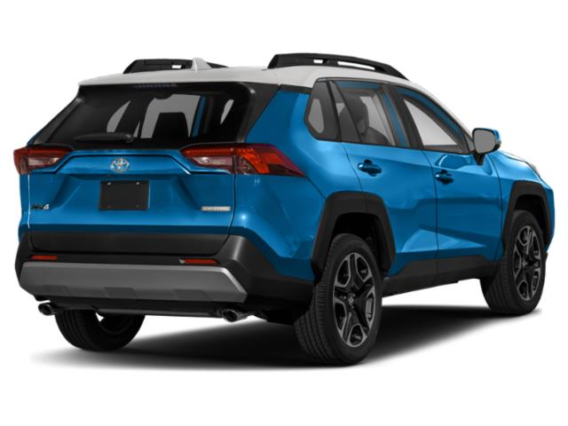 2021 Toyota RAV4 Base Price Adventure AWD Pricing side rear view