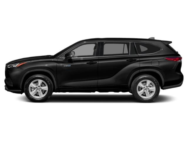 2021 Toyota Highlander Base Price Hybrid LE AWD Pricing side view