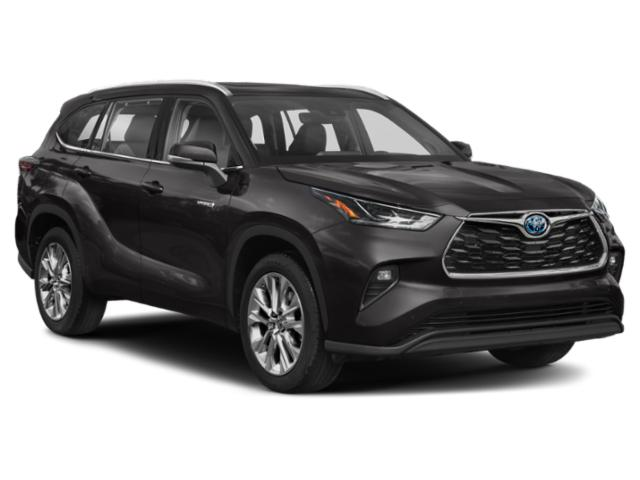 2021 Toyota Highlander Base Price Hybrid LE AWD Pricing side front view
