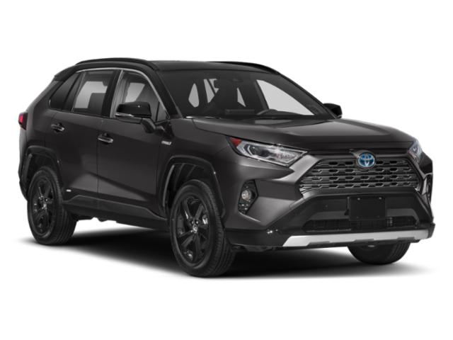 2021 Toyota RAV4 Base Price Hybrid LE AWD Pricing side front view