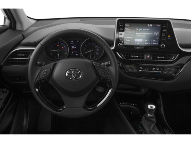 2021 Toyota C-HR Base Price LE FWD Pricing driver's dashboard