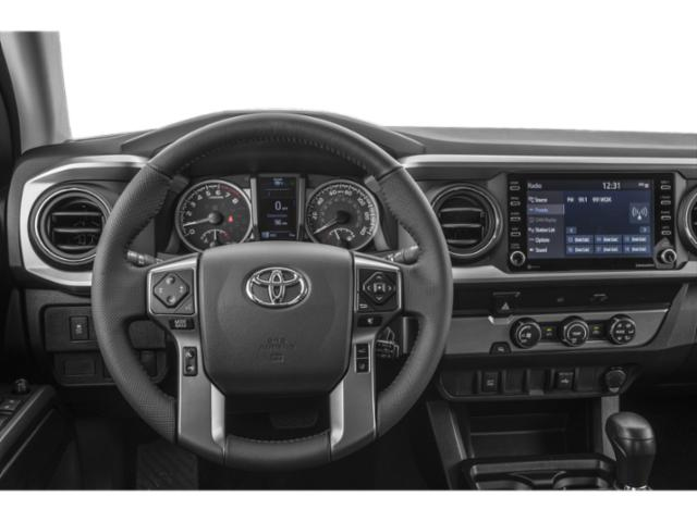 2021 Toyota Tacoma 4WD Base Price Limited Double Cab 5' Bed V6 AT Pricing driver's dashboard