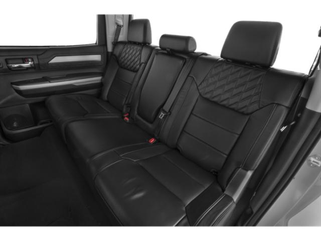 2021 Toyota Tundra 4WD Base Price 1794 Edition CrewMax 5.5' Bed 5.7L Pricing backseat interior