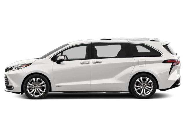 2021 Toyota Sienna Base Price LE AWD 8-Passenger Pricing side view