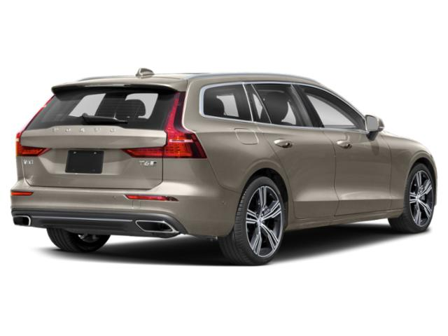 2021 Volvo V60 Pictures V60 T5 FWD Momentum photos side rear view
