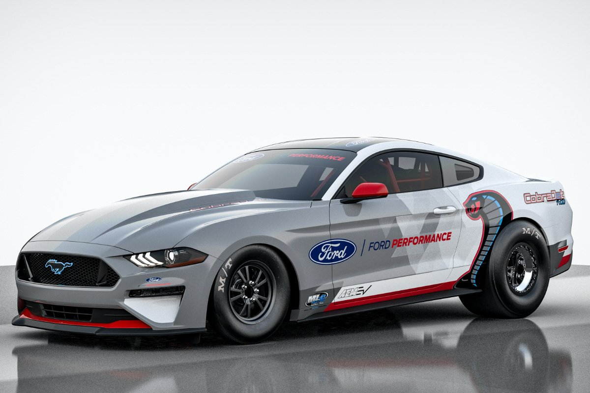 Ford Mustang Cobra Jet 1400 electric vehicle