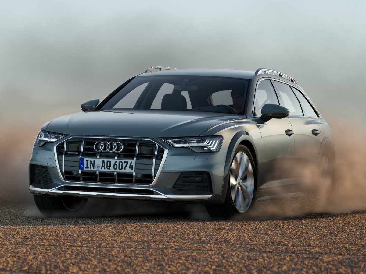 2020 Audi A6 Allroad Front View