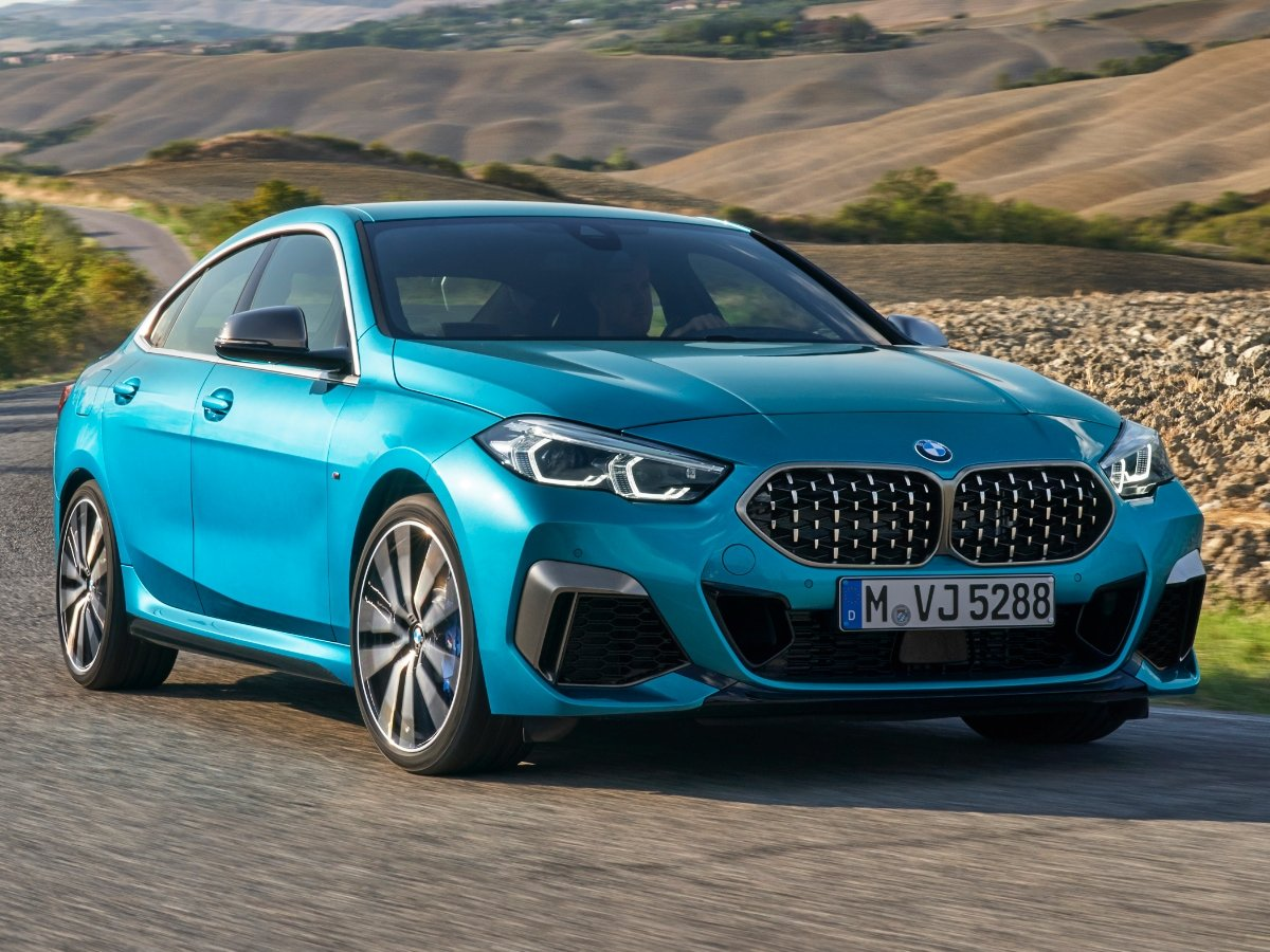 2020 BMW 2 Series Gran Coupe Snapper Rocks Blue Front View