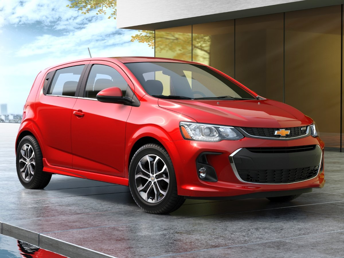 2020 Chevrolet Sonic Hatchback Small Car