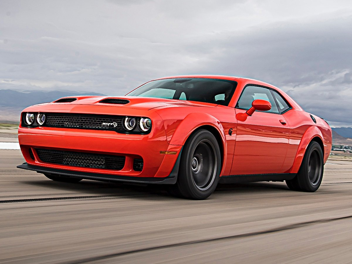 2020 Dodge Challenger Srt Super Stock Horsepower 0 60 And Quarter Mile Numbers Are Official Automotive News J D Power
