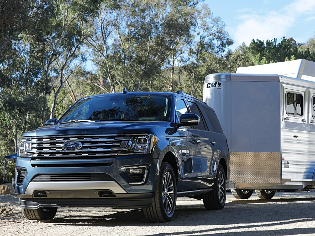 2020 Ford Expedition XLT Towing Trailer