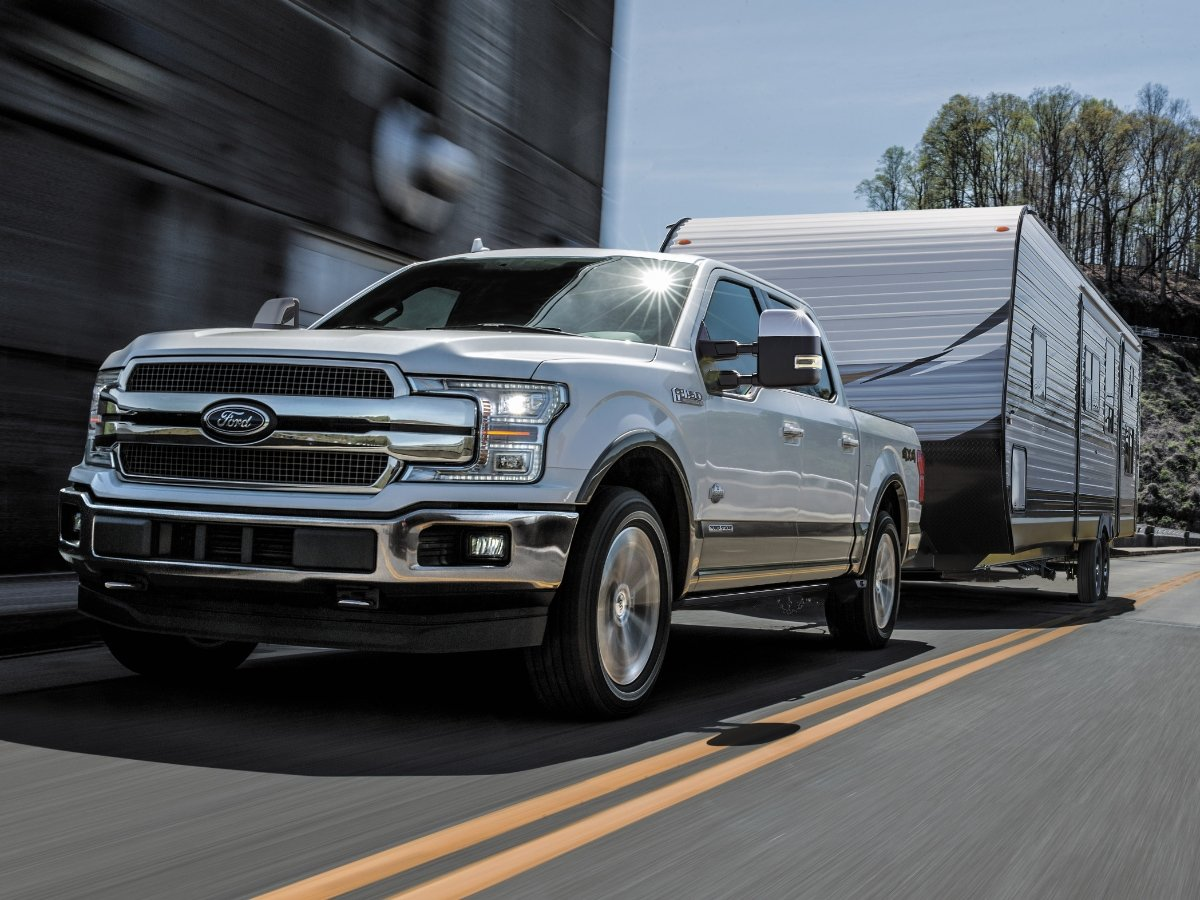 2020 Ford F-150 Towing Trailer