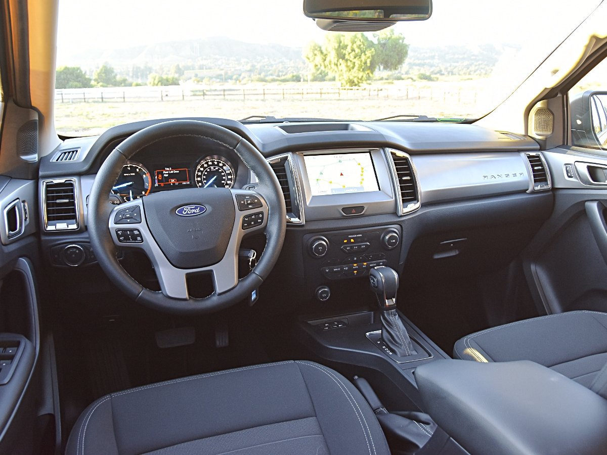 2020 Ford Ranger XLT Dashboard