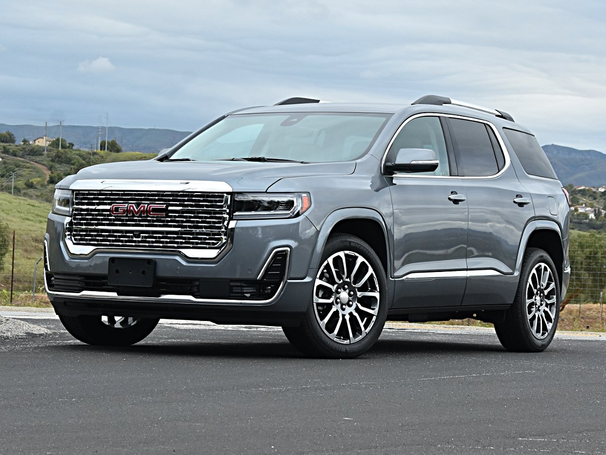 2020 Gmc Acadia Review Expert Reviews J D Power