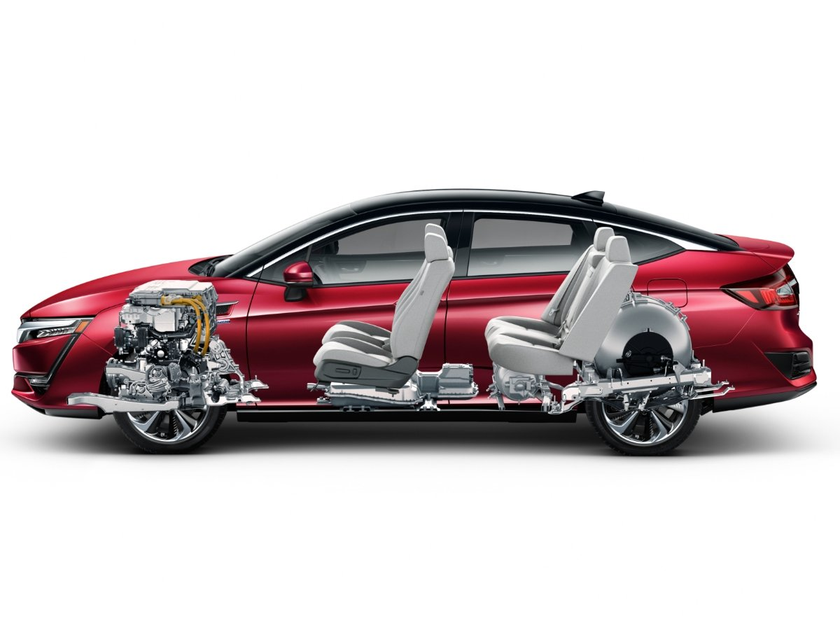 2020 Honda Clarity Fuel Cell Transparency