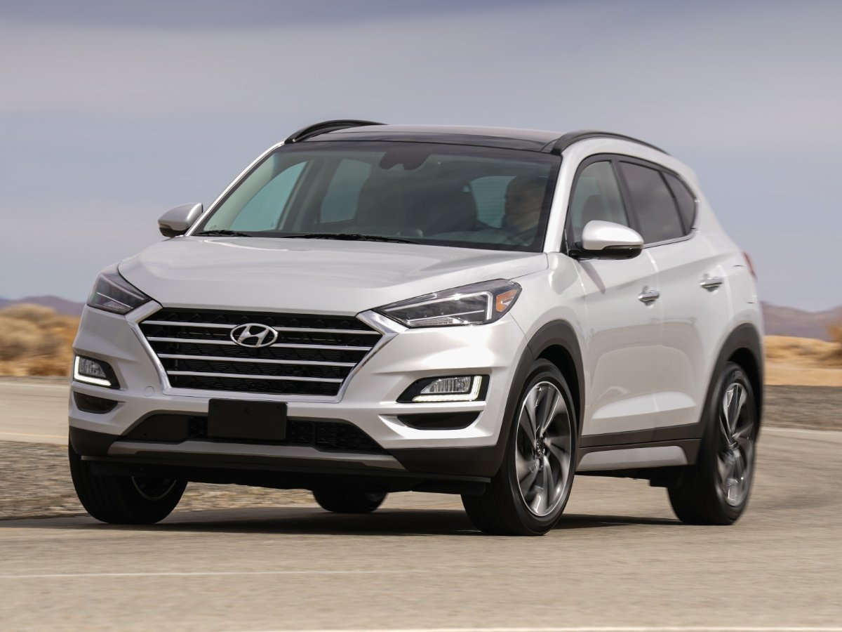 2020 Hyundai Tucson Limited Front View