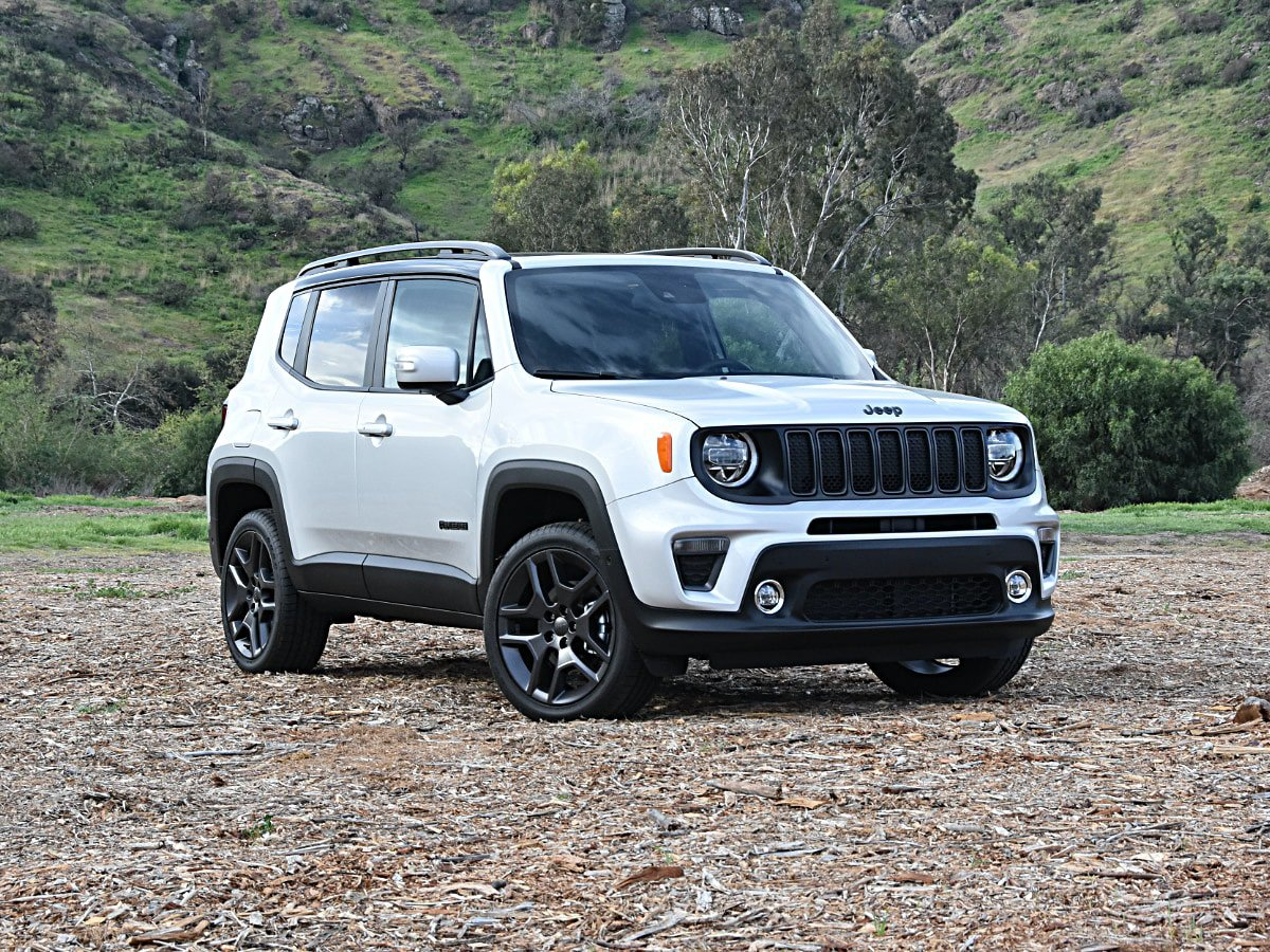 2020 Jeep Renegade High Altitude Gray Front View