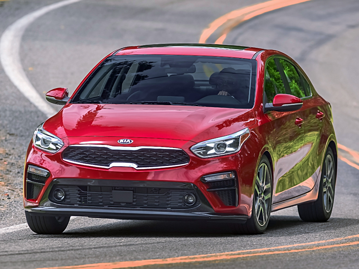 2020 Kia Forte EX Red Front View