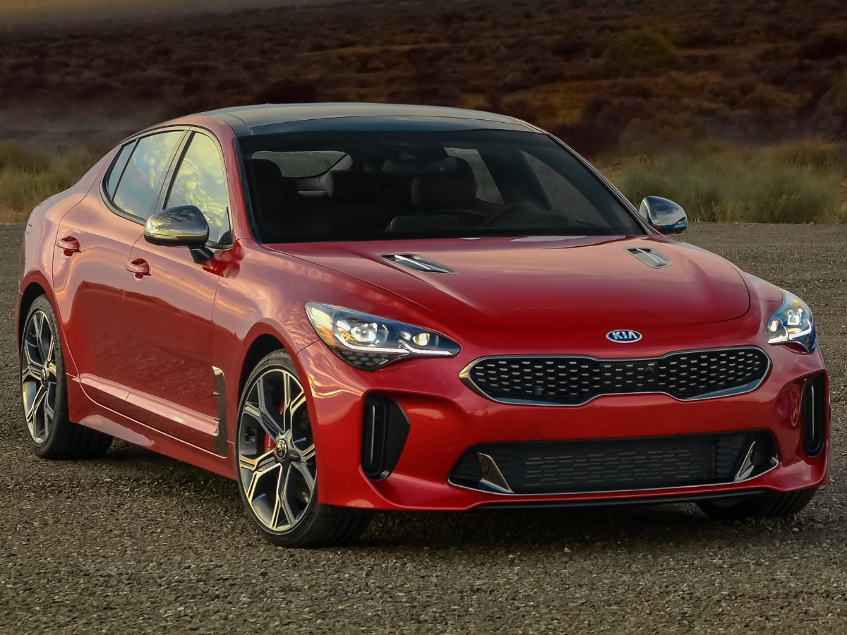 2020 Kia Stinger GT2 Red Front View