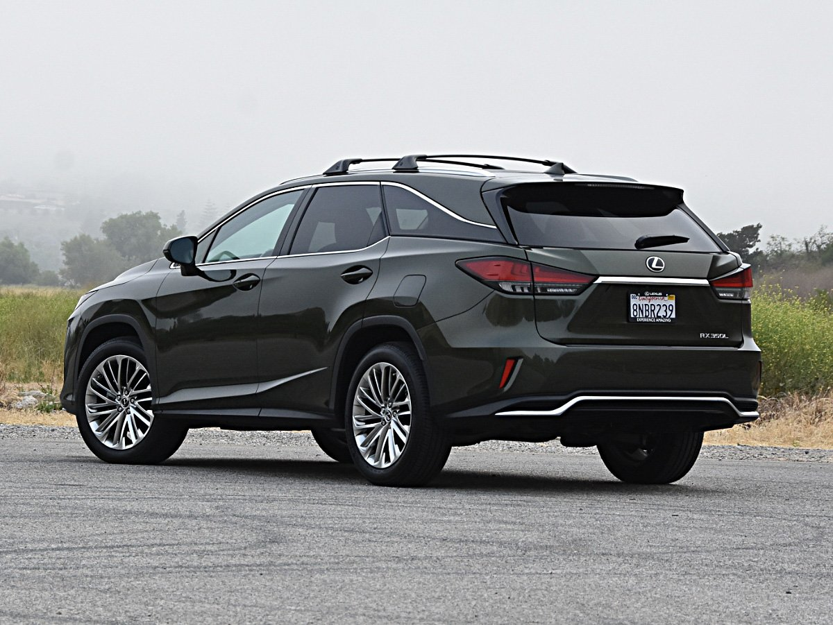 2020 Lexus RX 350L Nori Green Rear View