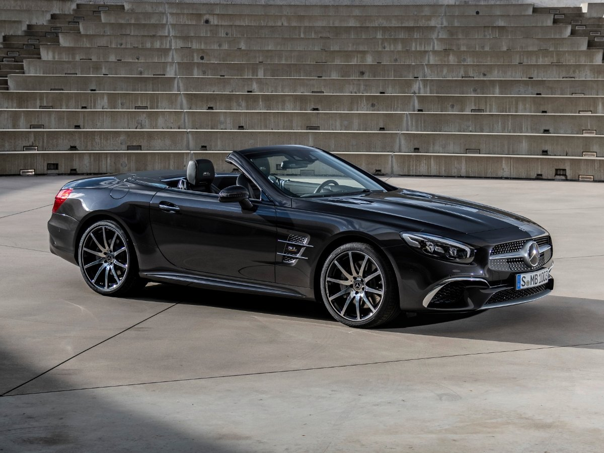 2020 Mercedes-Benz SL Grand Edition Black Front View