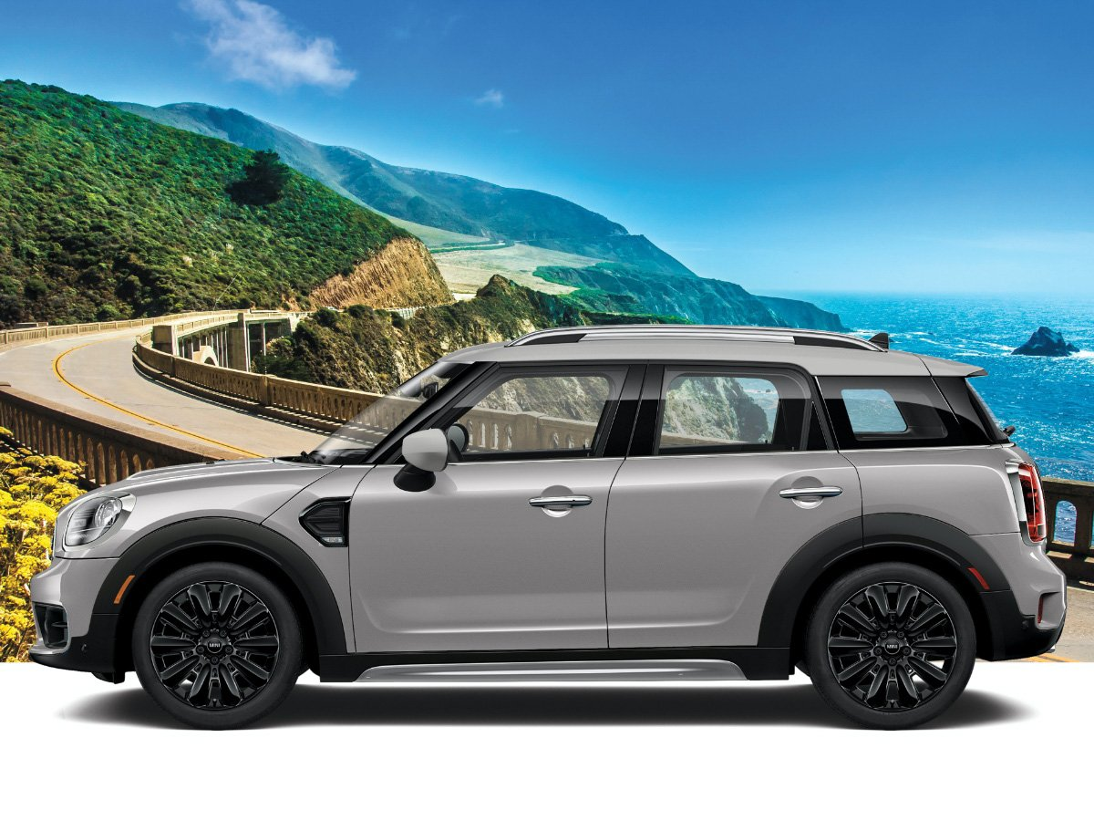 2020 Mini Countryman Oxford Edition Gray Side View