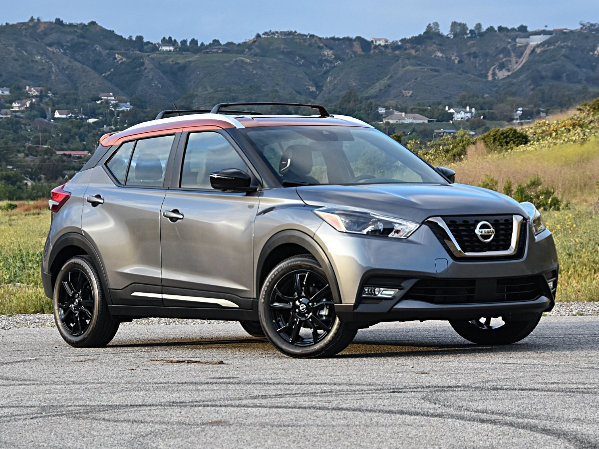 2020 Nissan Kicks SR Gray Orange Front View