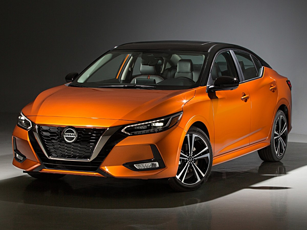 2020 Nissan Sentra SR Orange Front View