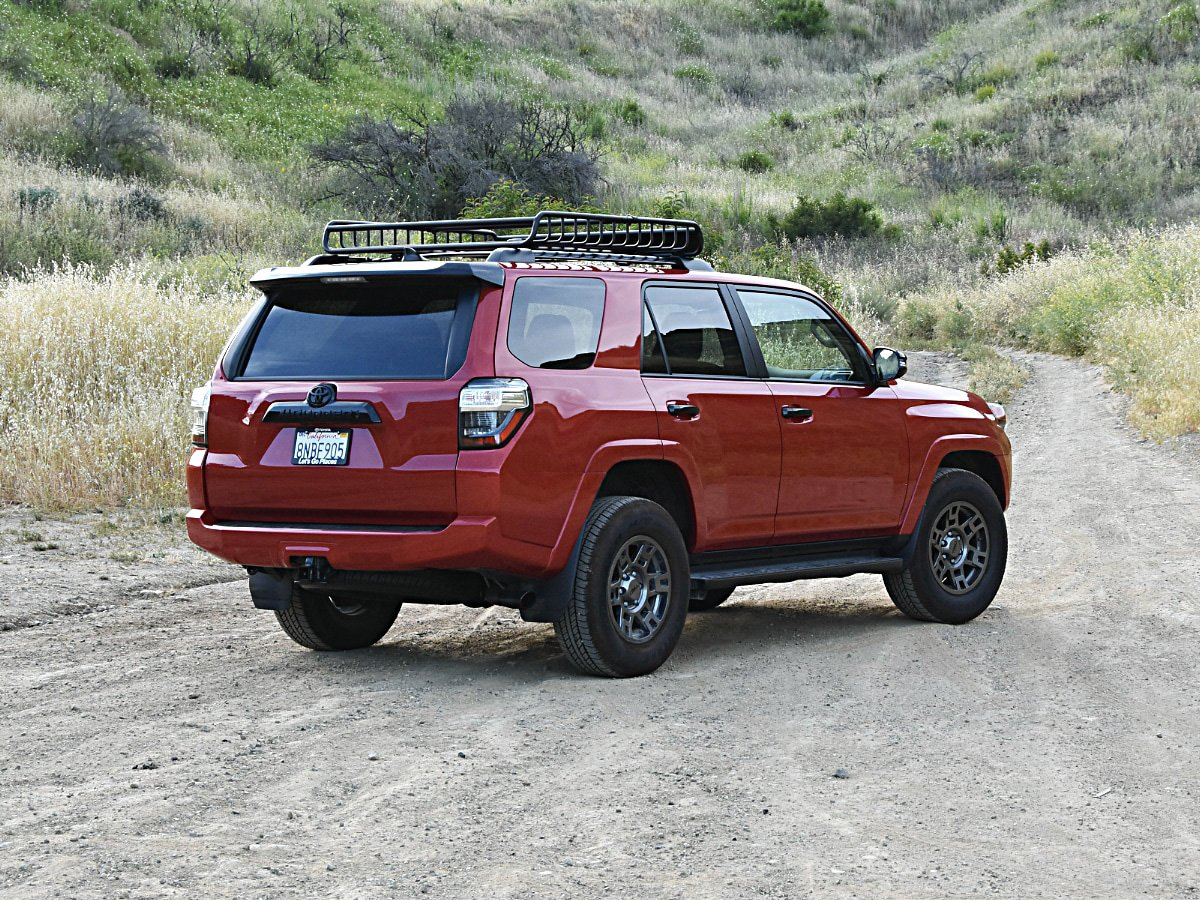 2020 Toyota 4Runner Venture edition rear exterior view