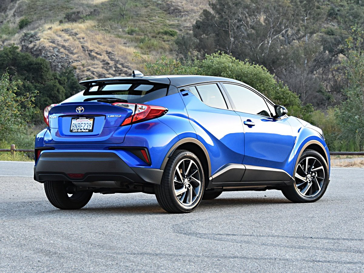 2020 Toyota C-HR Limited rear exterior view