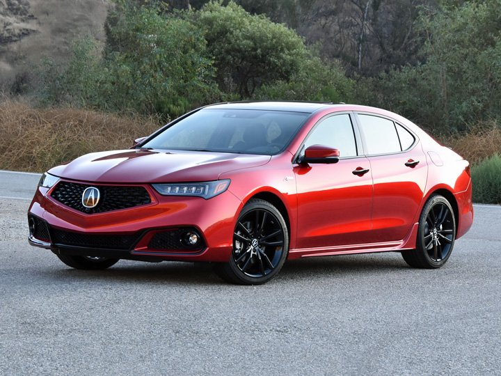 2020 Acura TLX PMC Edition Red Front Quarter