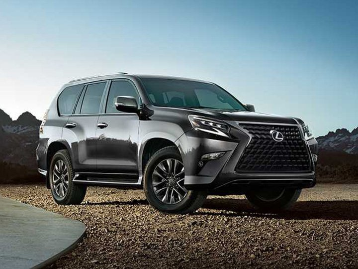 2020 Lexus GX Gray Large