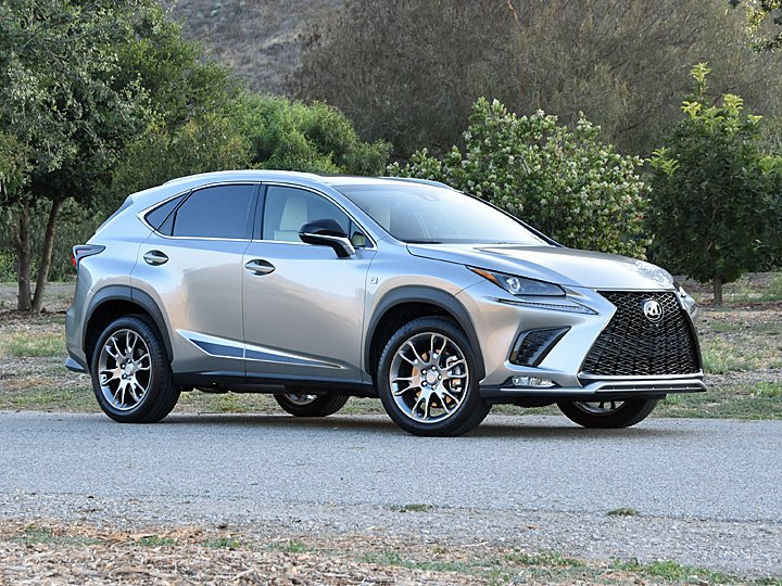 02020 Lexus NX-300 F-Sport Silver Front View