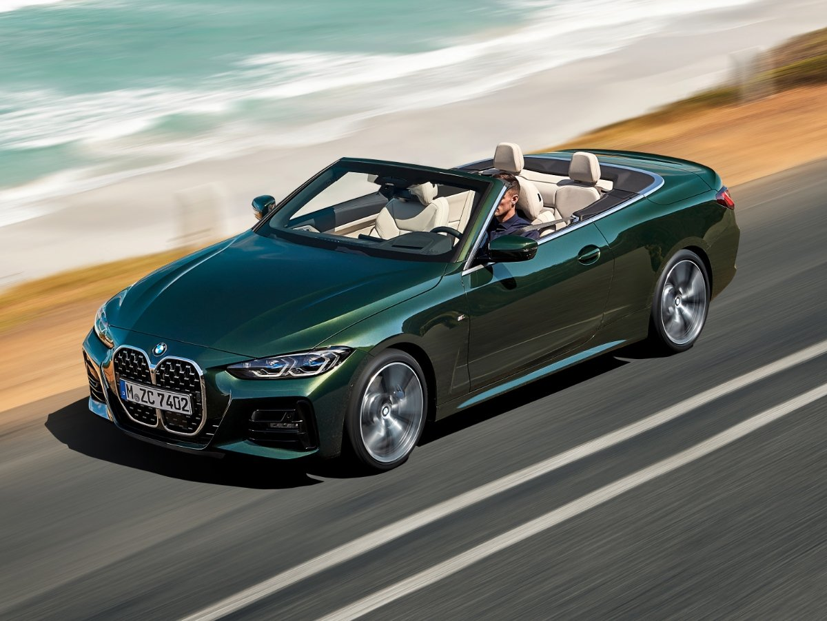 2021 BMW 4 Series Convertible Preview